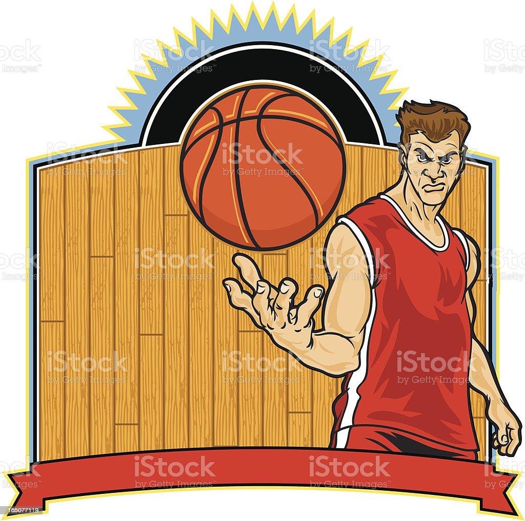 Basketball Attitude! royalty-free stock vector art