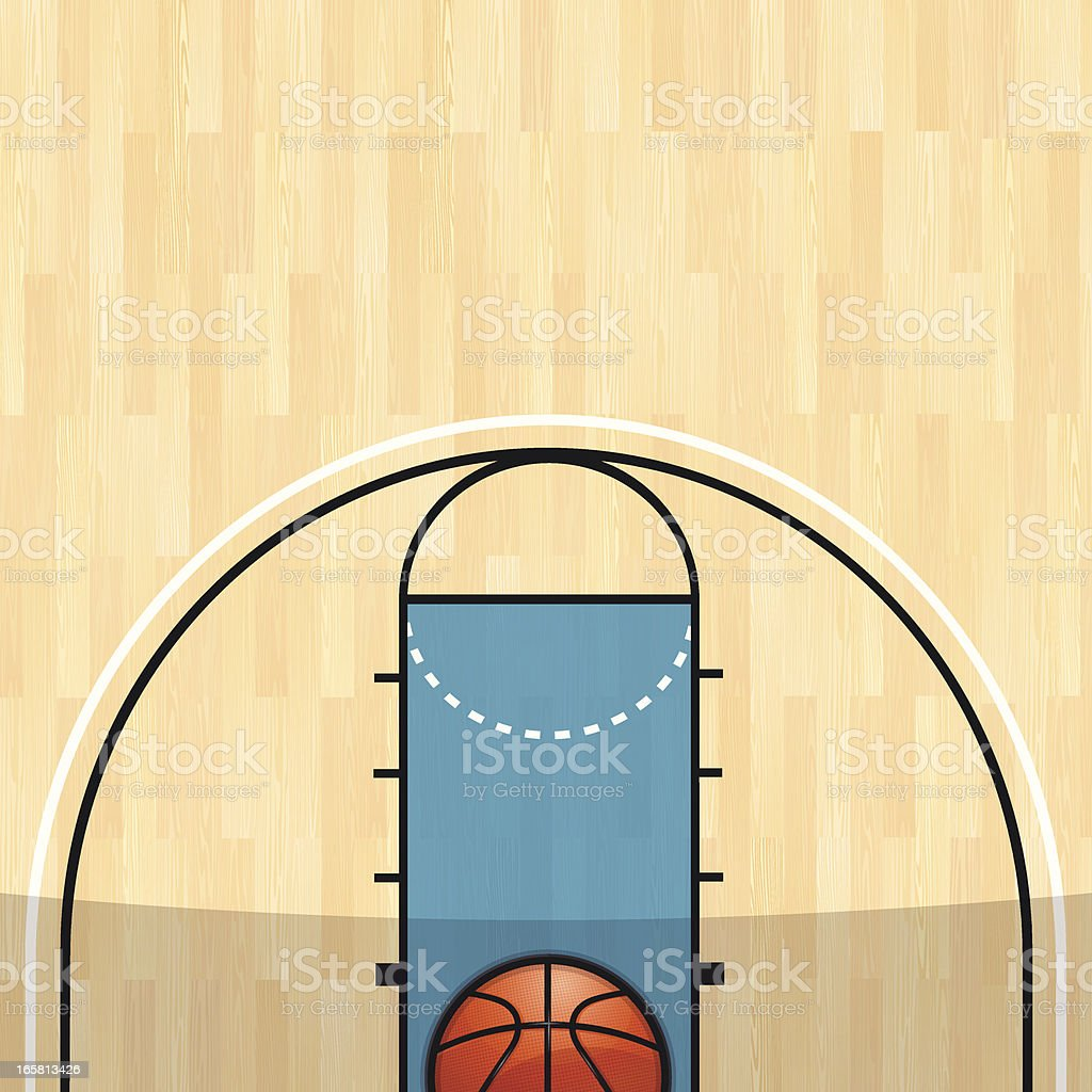 Basketball Background vector art illustration