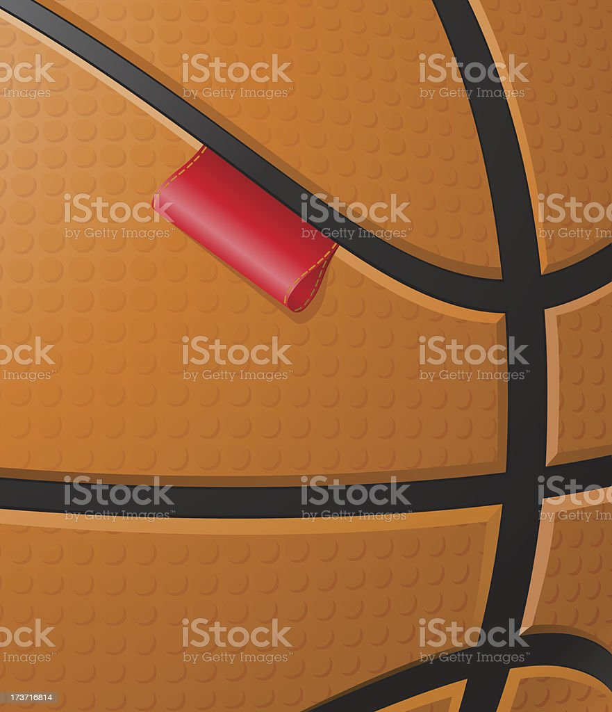basketball background with label vector royalty-free stock vector art