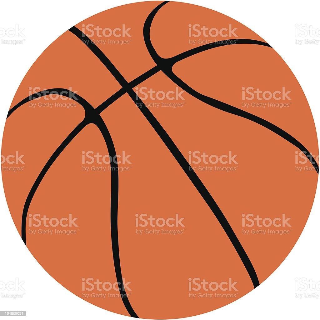 basketball ball vector vector art illustration