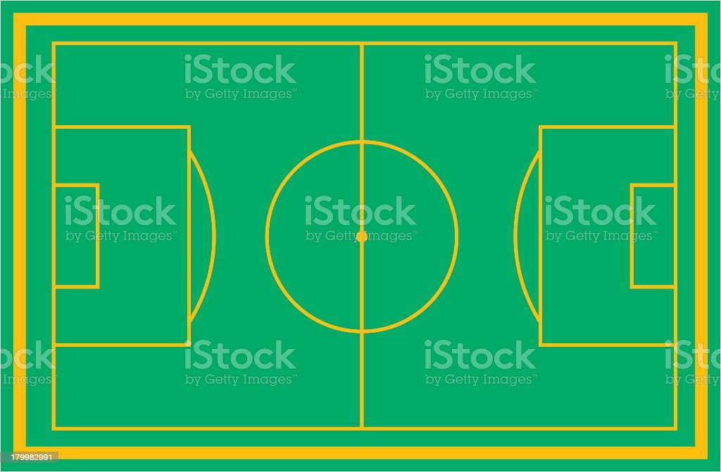 Basketball Court royalty-free stock vector art
