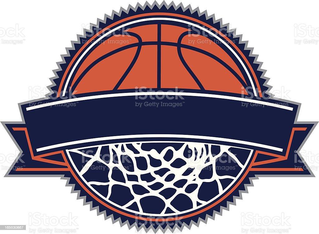 Basketball Design vector art illustration