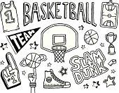 Basketball Doodles