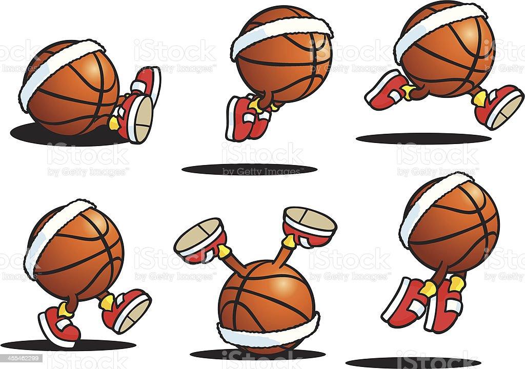 Basketball Guy vector art illustration