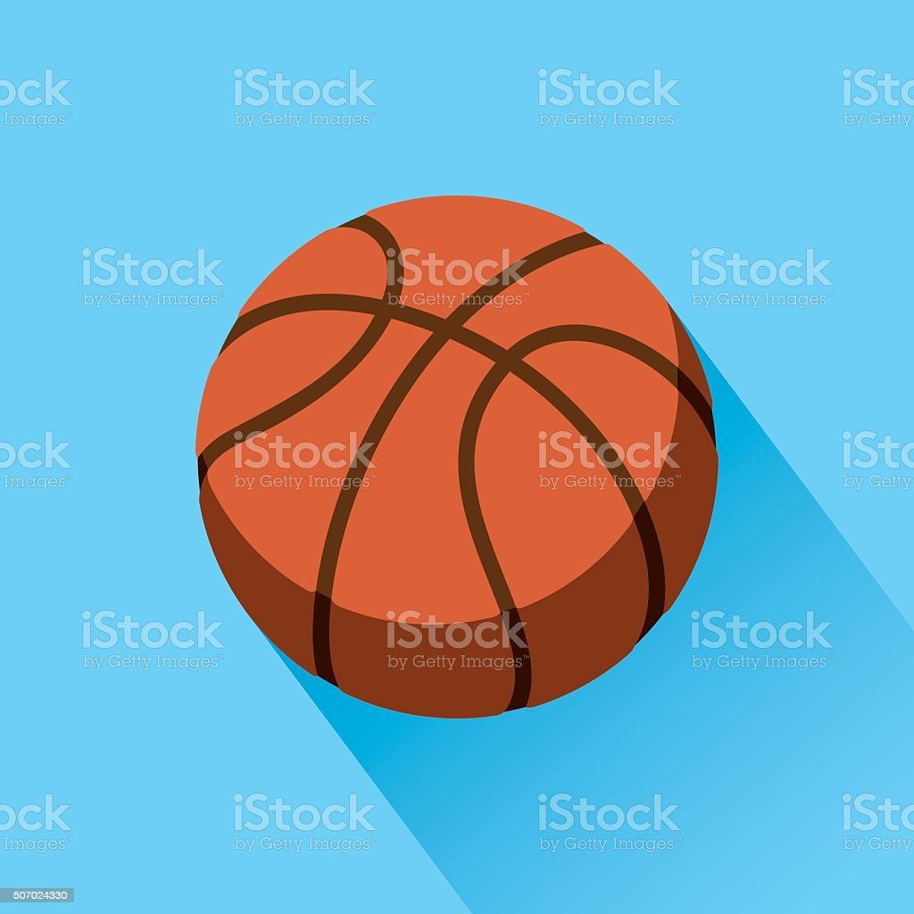 Basketball Icon vector art illustration