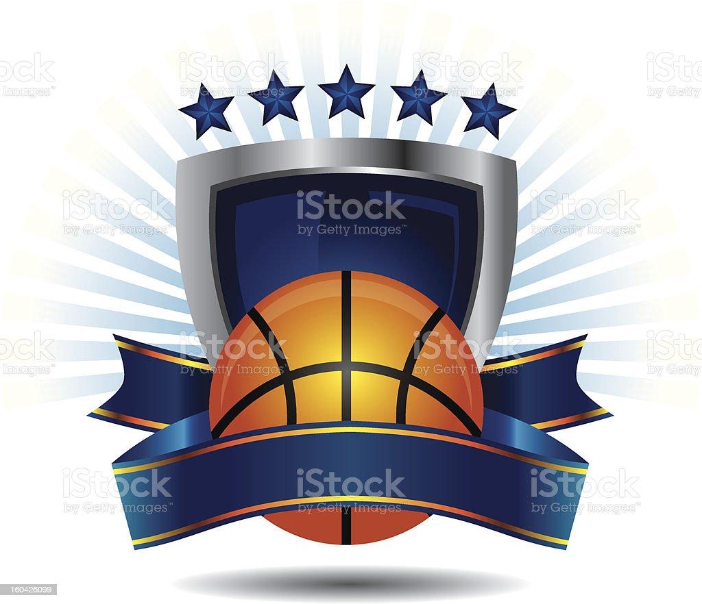 Basketball Logo royalty-free stock vector art