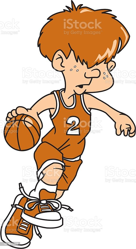 Basketball Player royalty-free stock vector art
