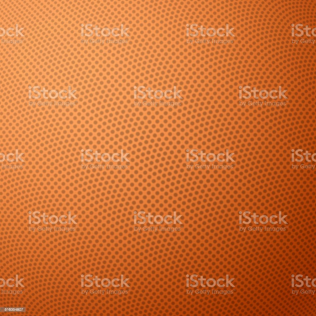 Basketball texture with bumps vector art illustration