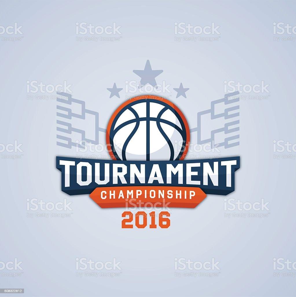 Basketball Tournament Championship vector art illustration