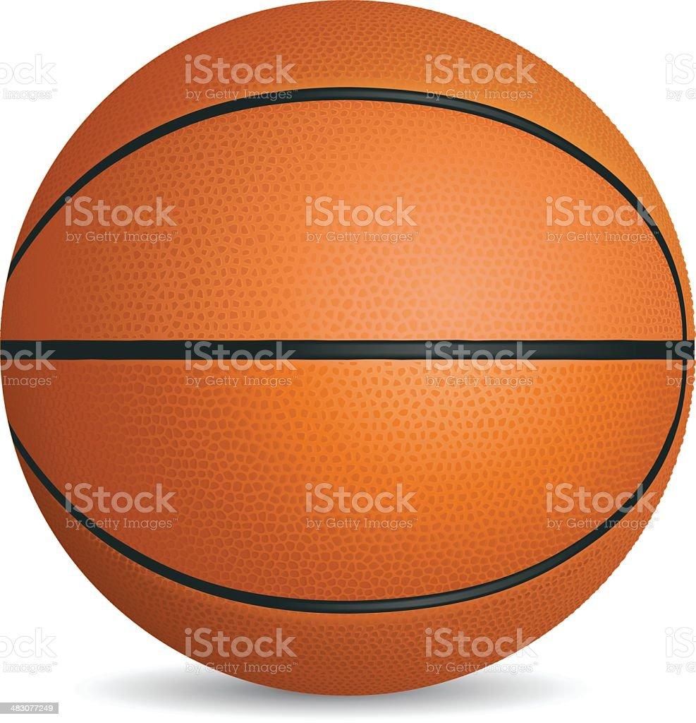 Basketball royalty-free stock vector art