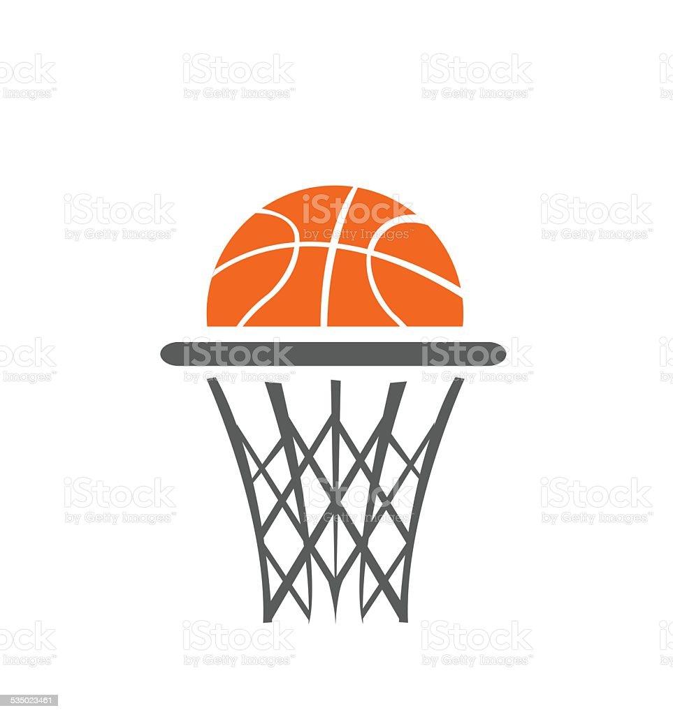 Basketball, vector vector art illustration