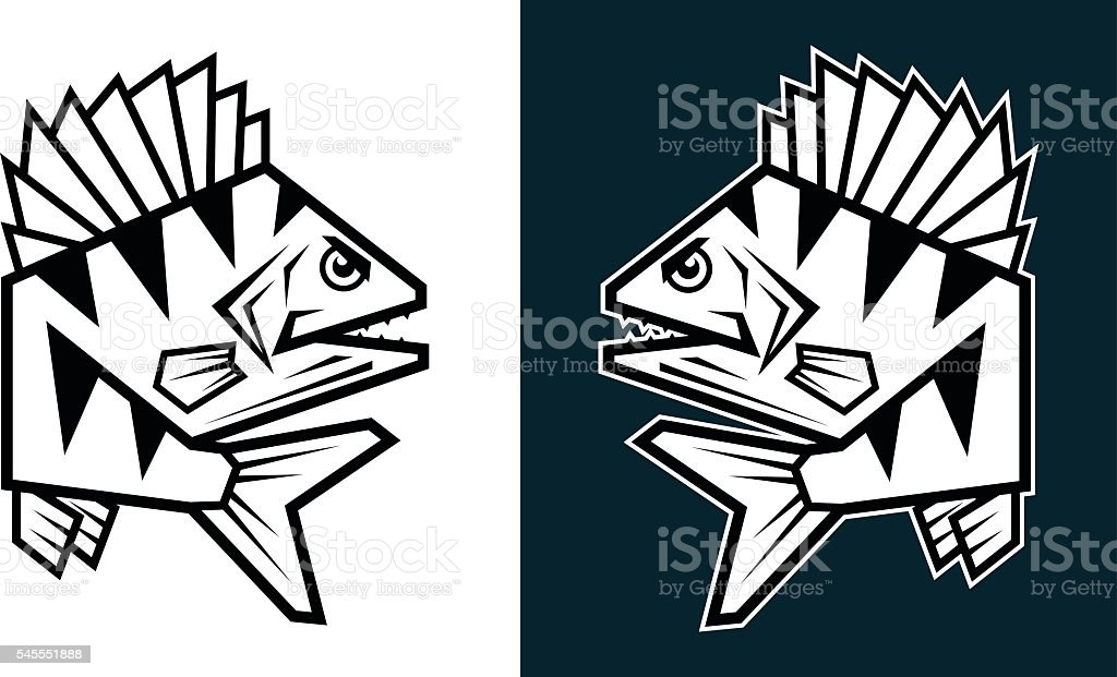 bass vector art illustration