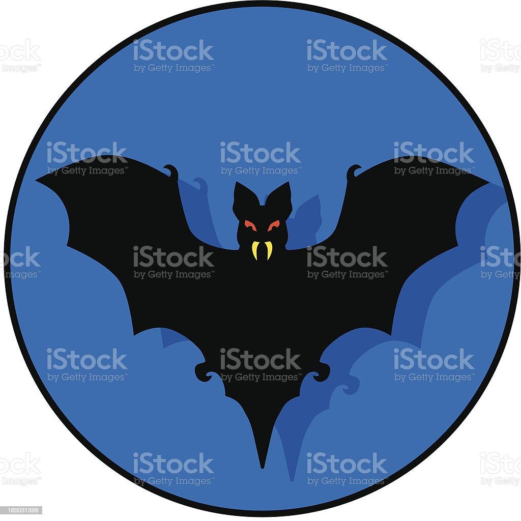bat icon royalty-free stock vector art