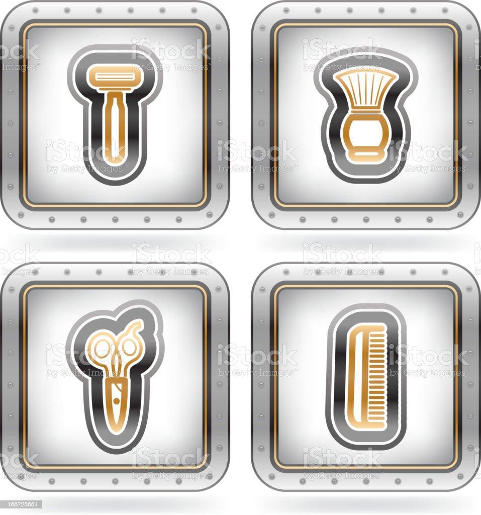 Bath utensils royalty-free stock vector art