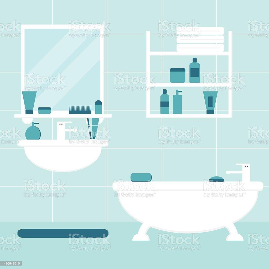 vanity mirror clip art, vector images & illustrations - istock