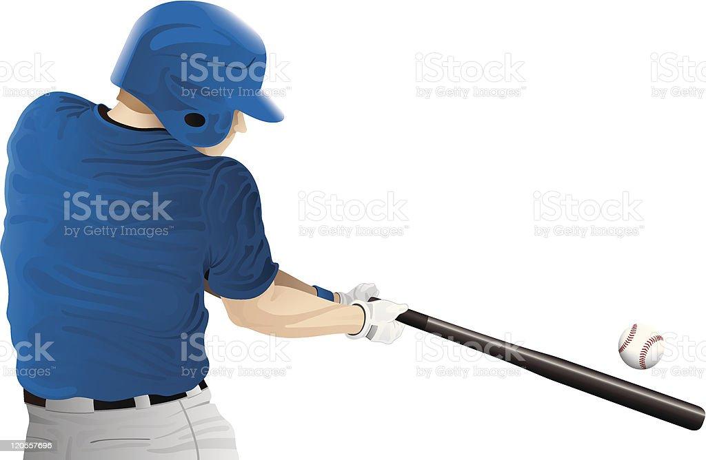 Batter up! royalty-free stock vector art