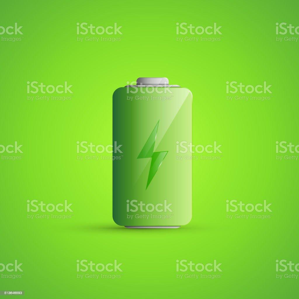 Battery Icon Illustration vector art illustration