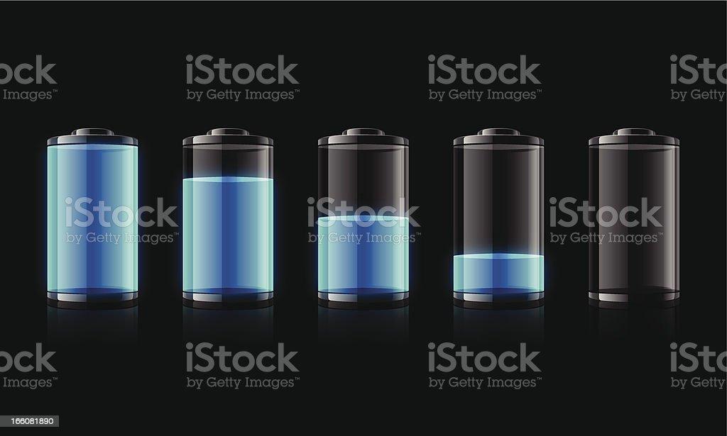 Battery royalty-free stock vector art