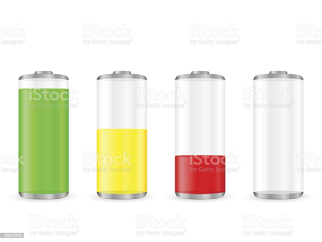battery royalty-free stock vector art
