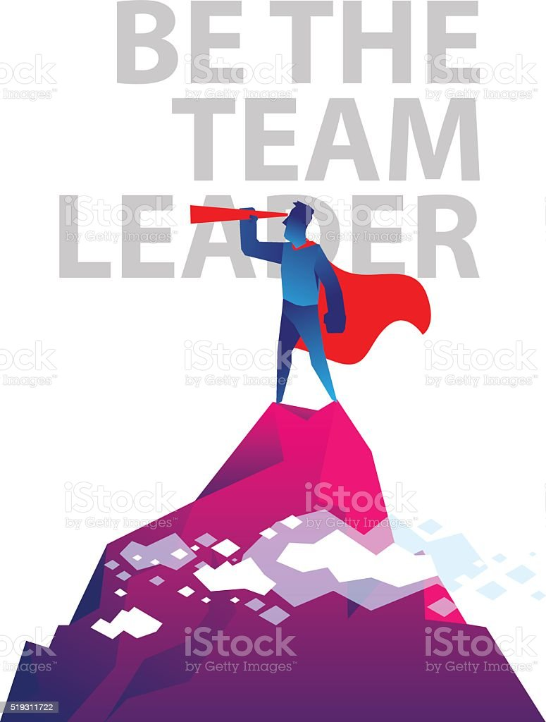 be the team leader stock vector art istock be the team leader royalty stock vector art