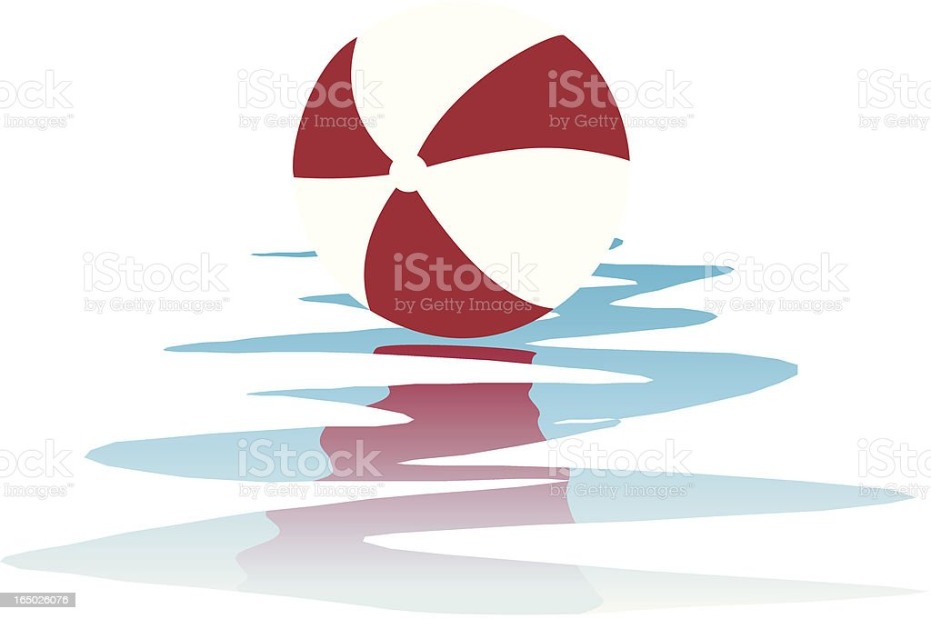 Beach Ball royalty-free stock vector art