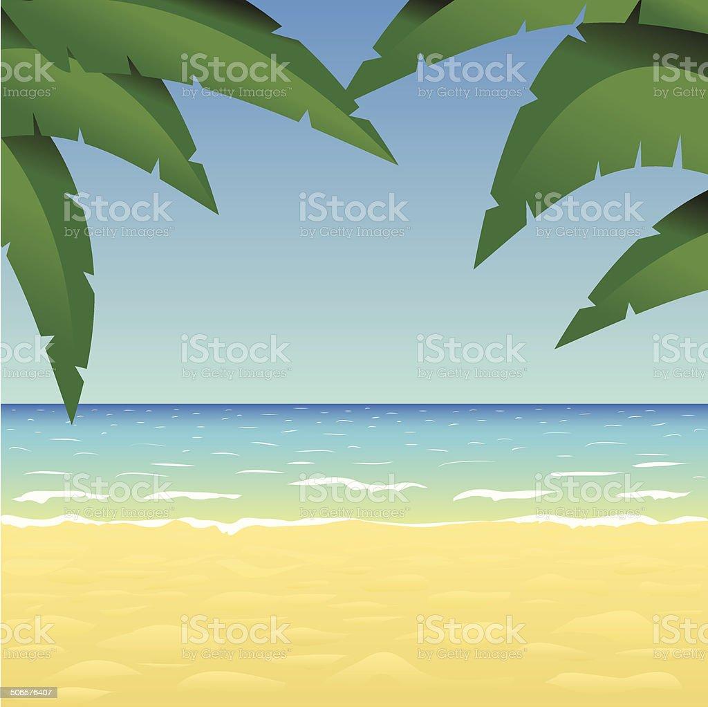 beach royalty-free stock vector art
