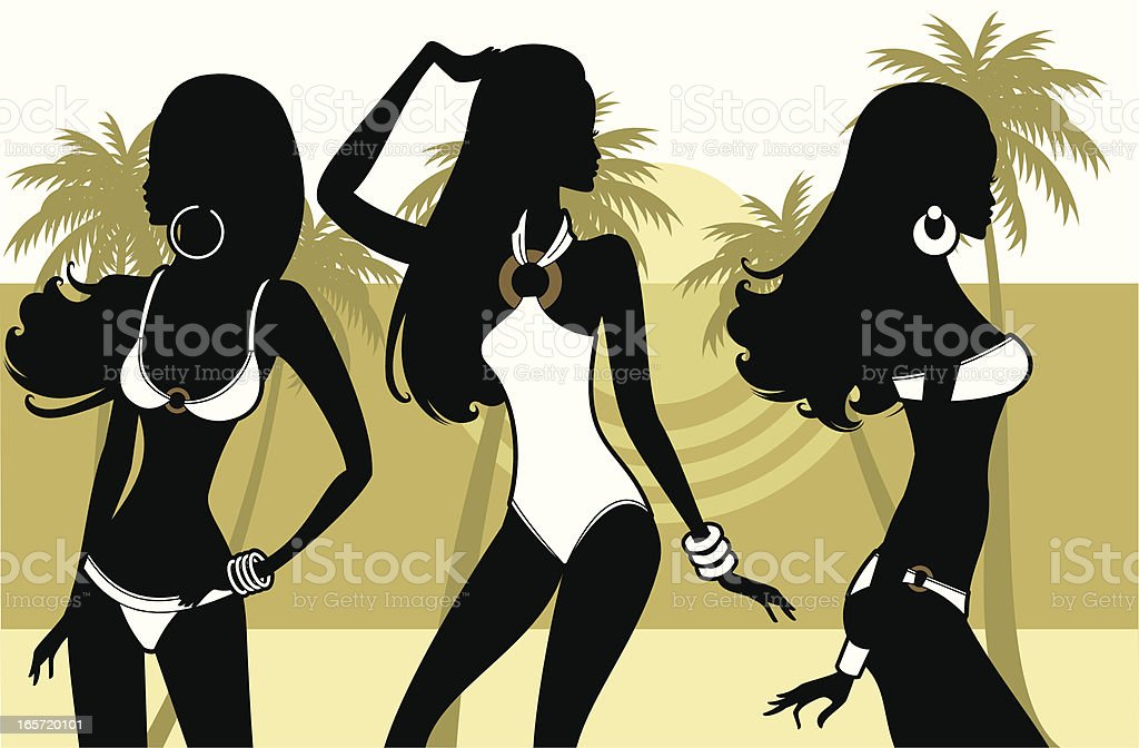 Beach Wear royalty-free stock vector art