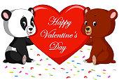 bear and panda