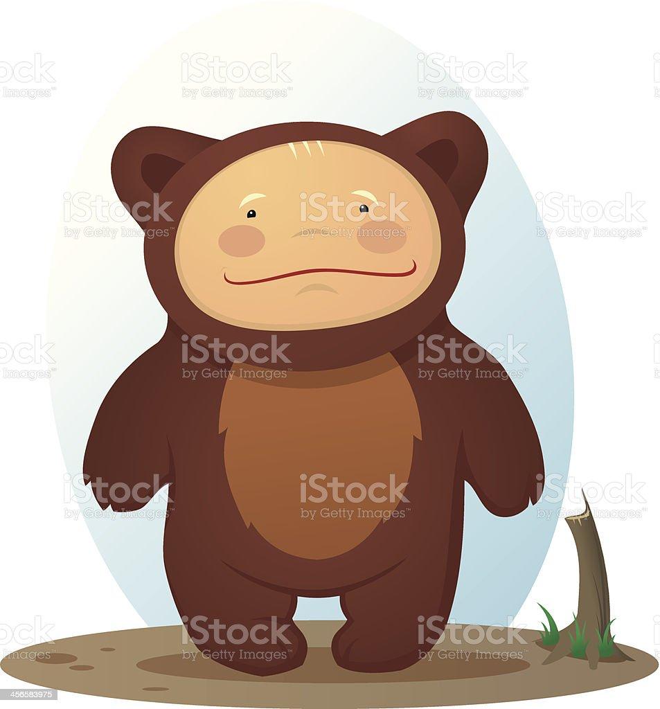 Bear baby royalty-free stock vector art