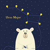 bear connecting electrical plug constellation Ursa Major