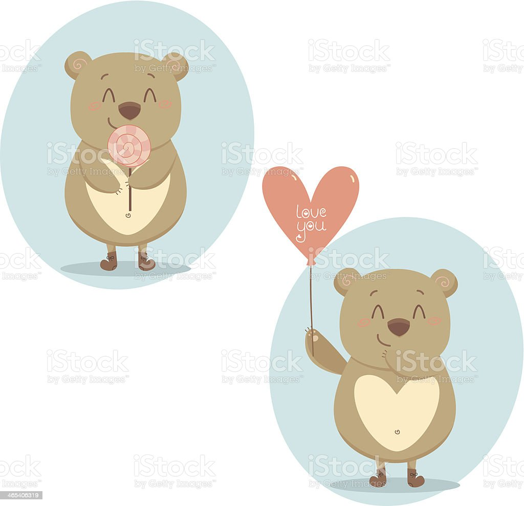Bear Life royalty-free stock vector art