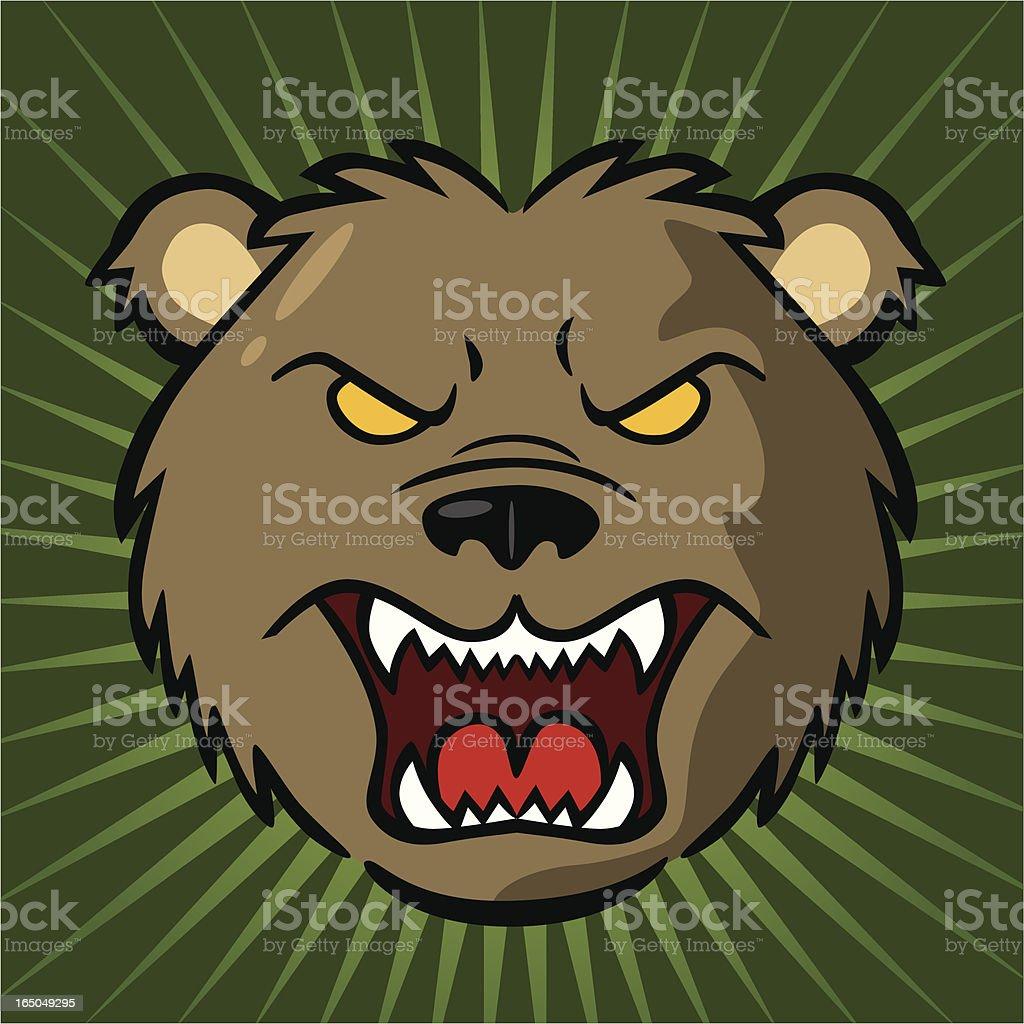 Bear Stock Market royalty-free stock vector art