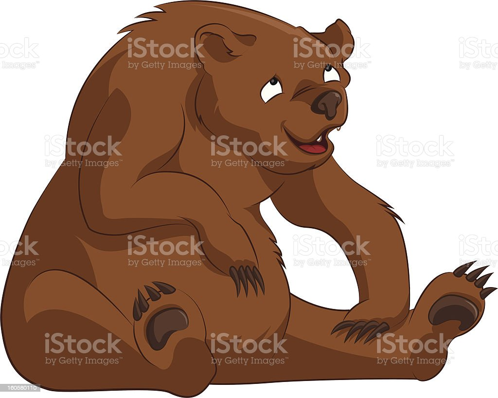 Bear royalty-free stock vector art