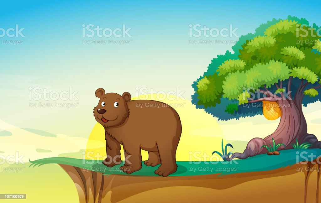 Bear royalty-free stock vector art