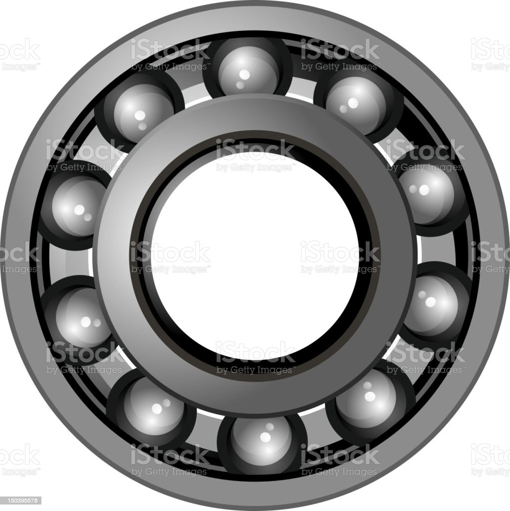 bearings vector art illustration