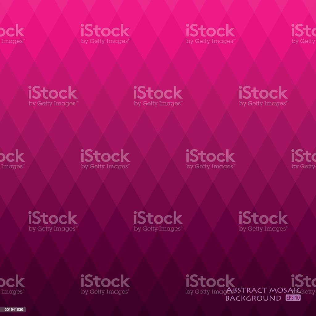 Beautiful abstract geometric style background. vector art illustration