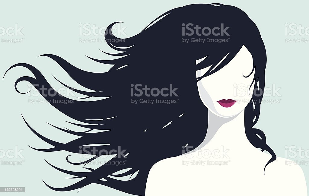 Beautiful and gentle vector art illustration