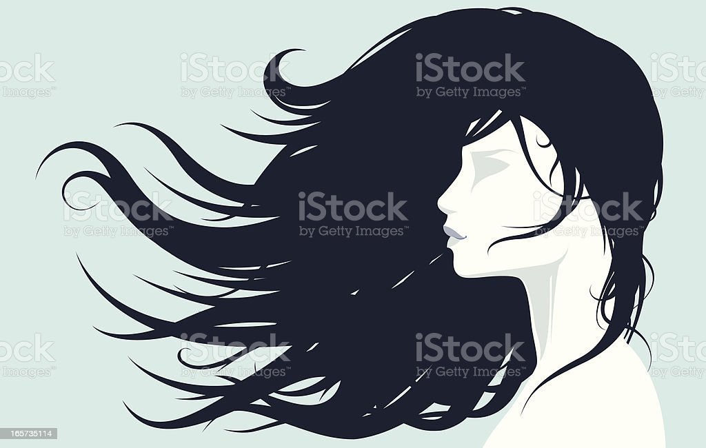 Beautiful and gentle vector art illustration