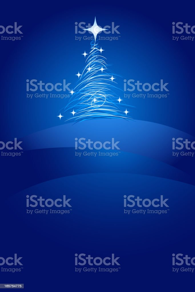 Beautiful Christmas Background royalty-free stock vector art