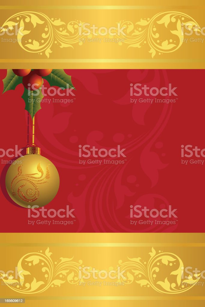 Beautiful Christmas Background/card royalty-free stock vector art