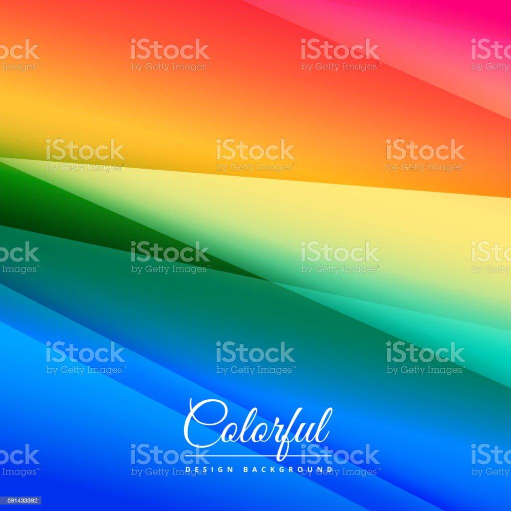 beautiful colorful background design vector art illustration