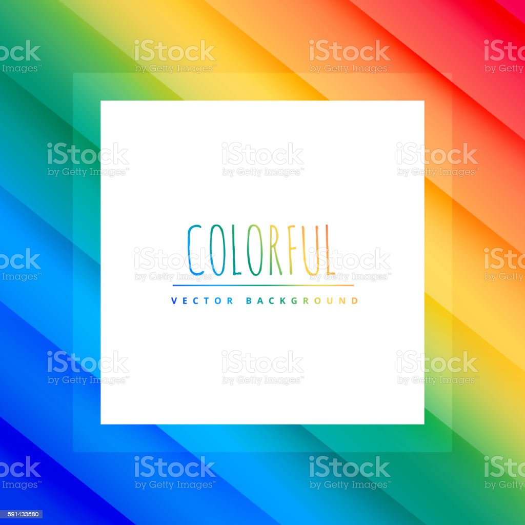 beautiful colorful background vector art illustration
