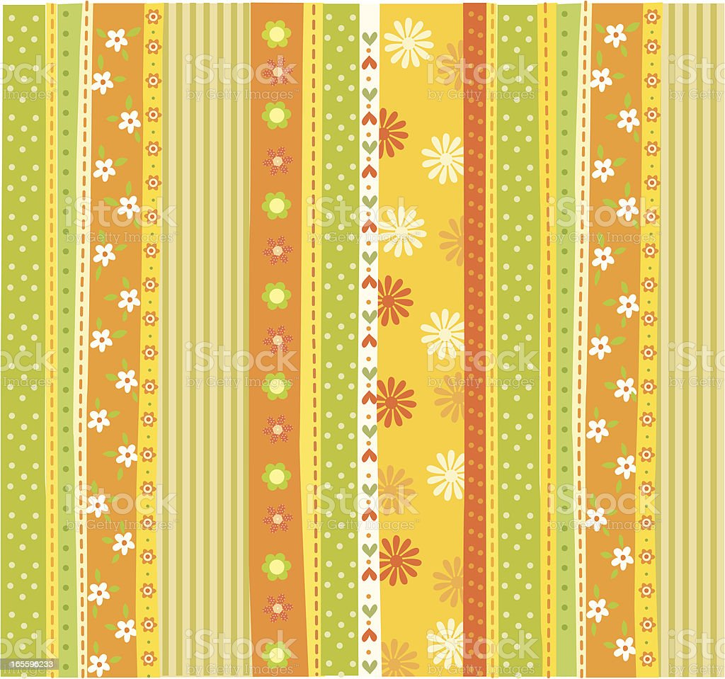 beautiful fabric patterns royalty-free stock vector art