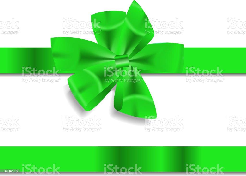 Beautiful Gift Ribbon. Vector illustration royalty-free stock vector art