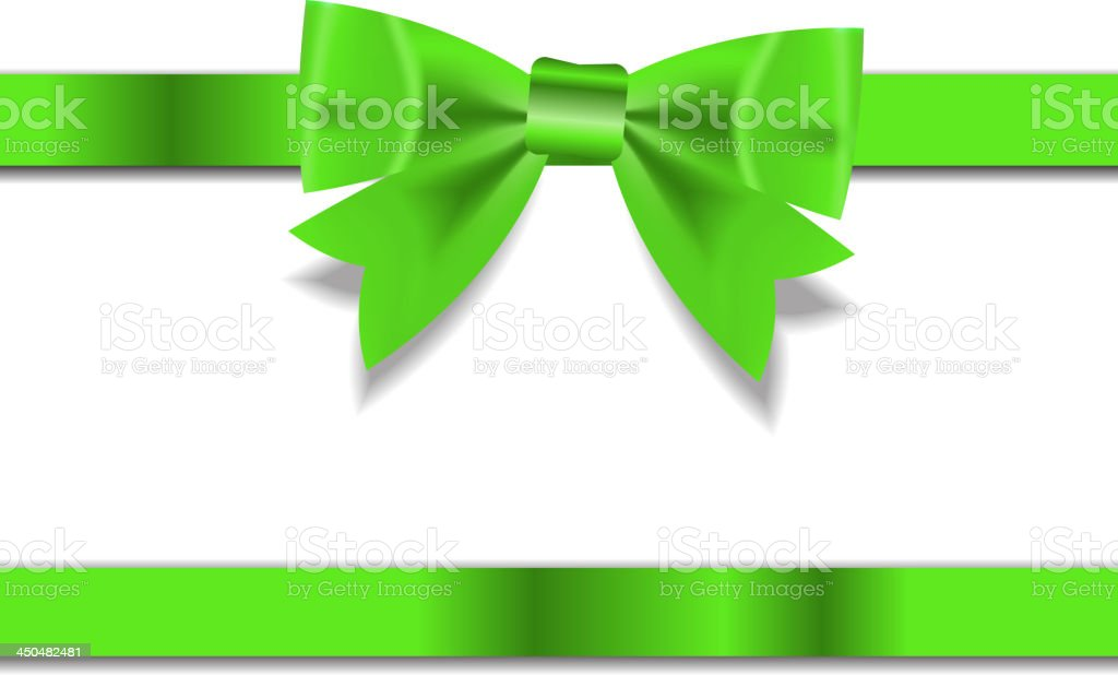 Beautiful Gift Ribbon . Vector illustration royalty-free stock vector art
