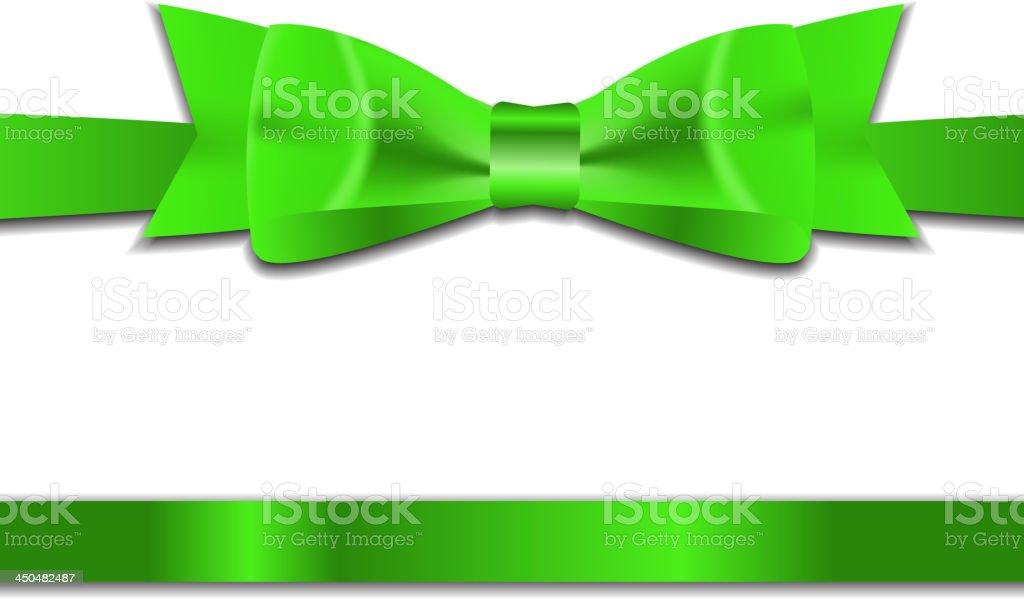 Beautiful Gift Ribbon. Vector illustration. royalty-free stock vector art