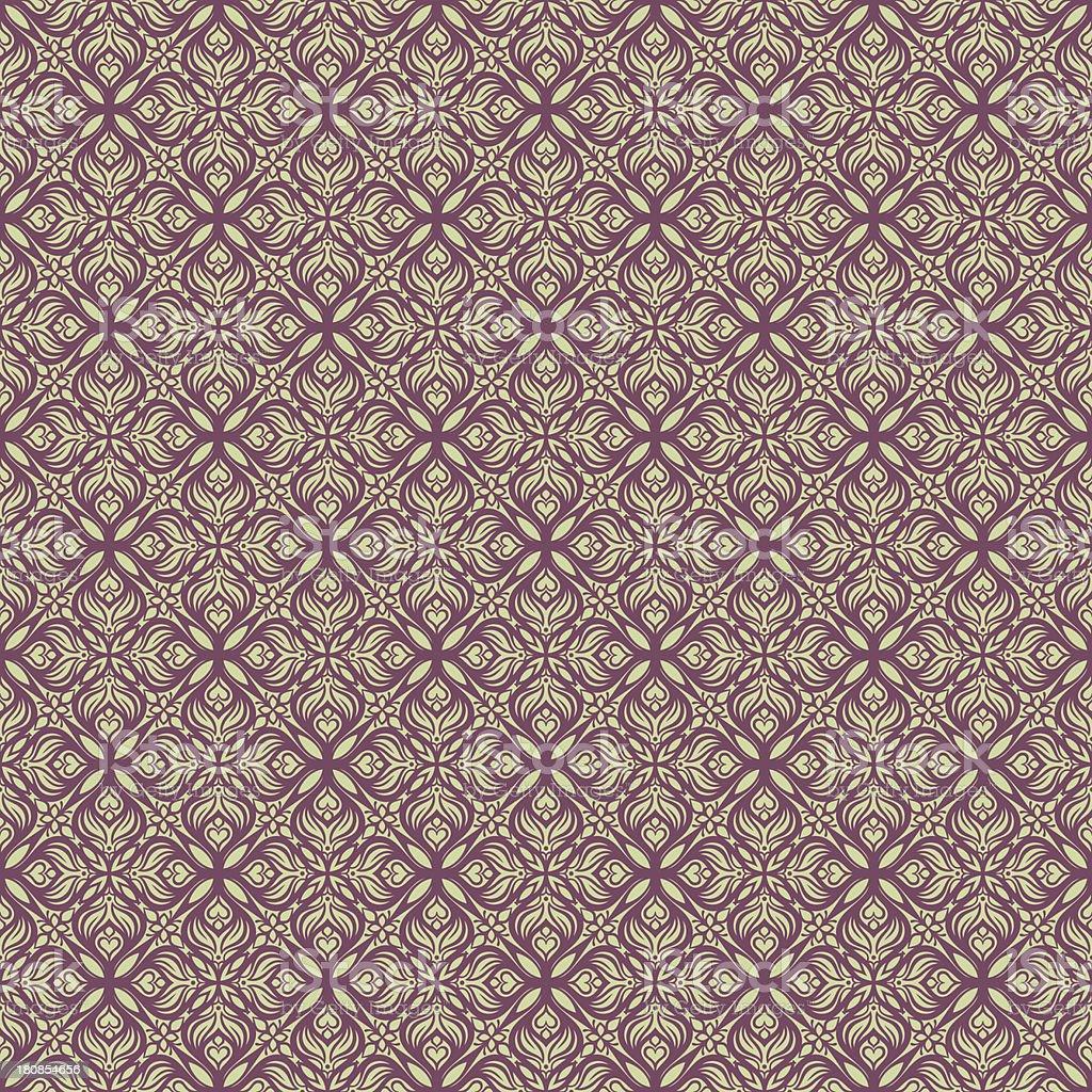 beautiful green purple pattern royalty-free stock vector art