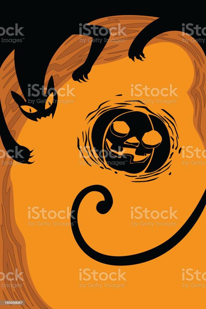 Beautiful Halloween background royalty-free stock vector art