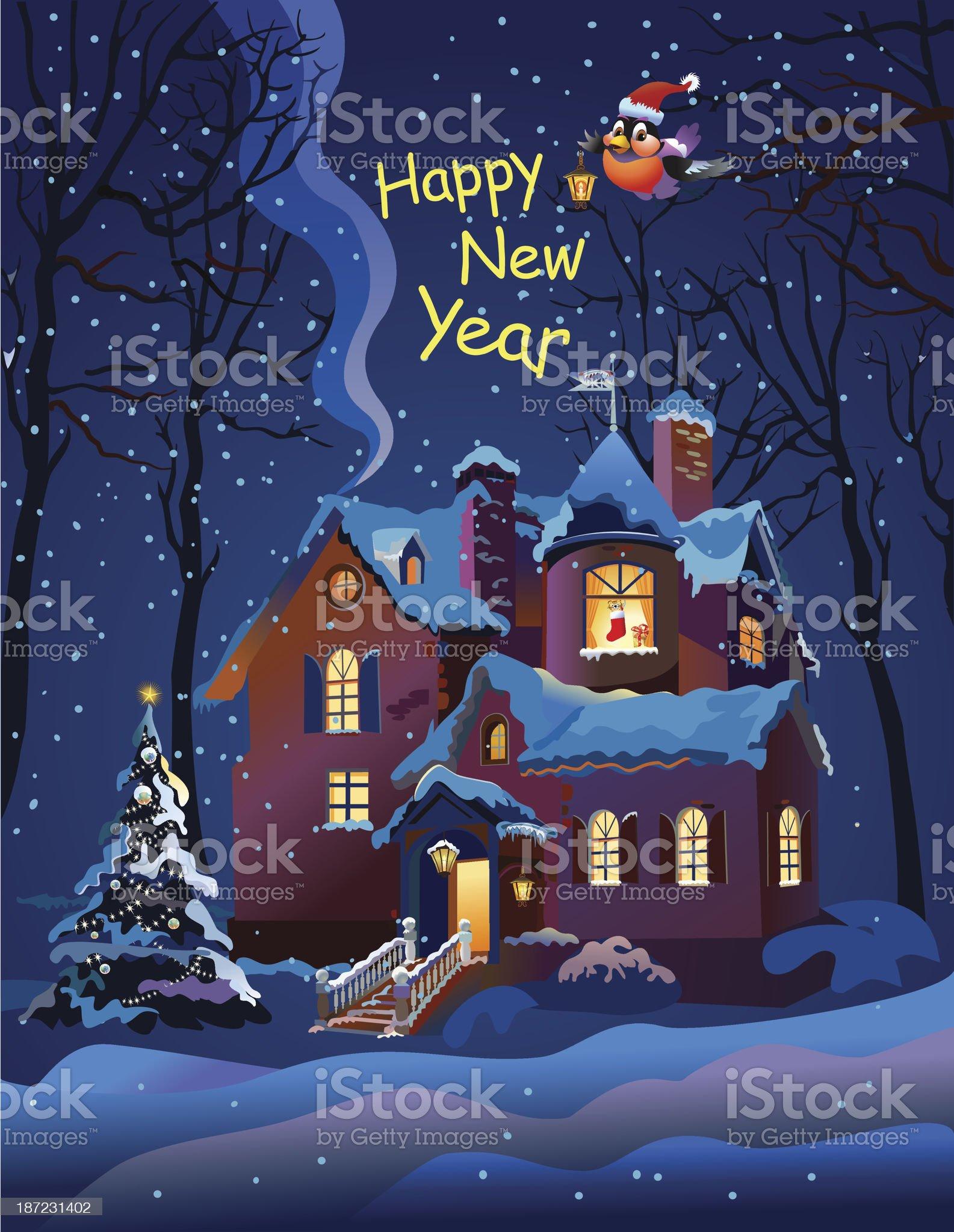 Beautiful Holiday royalty-free stock vector art