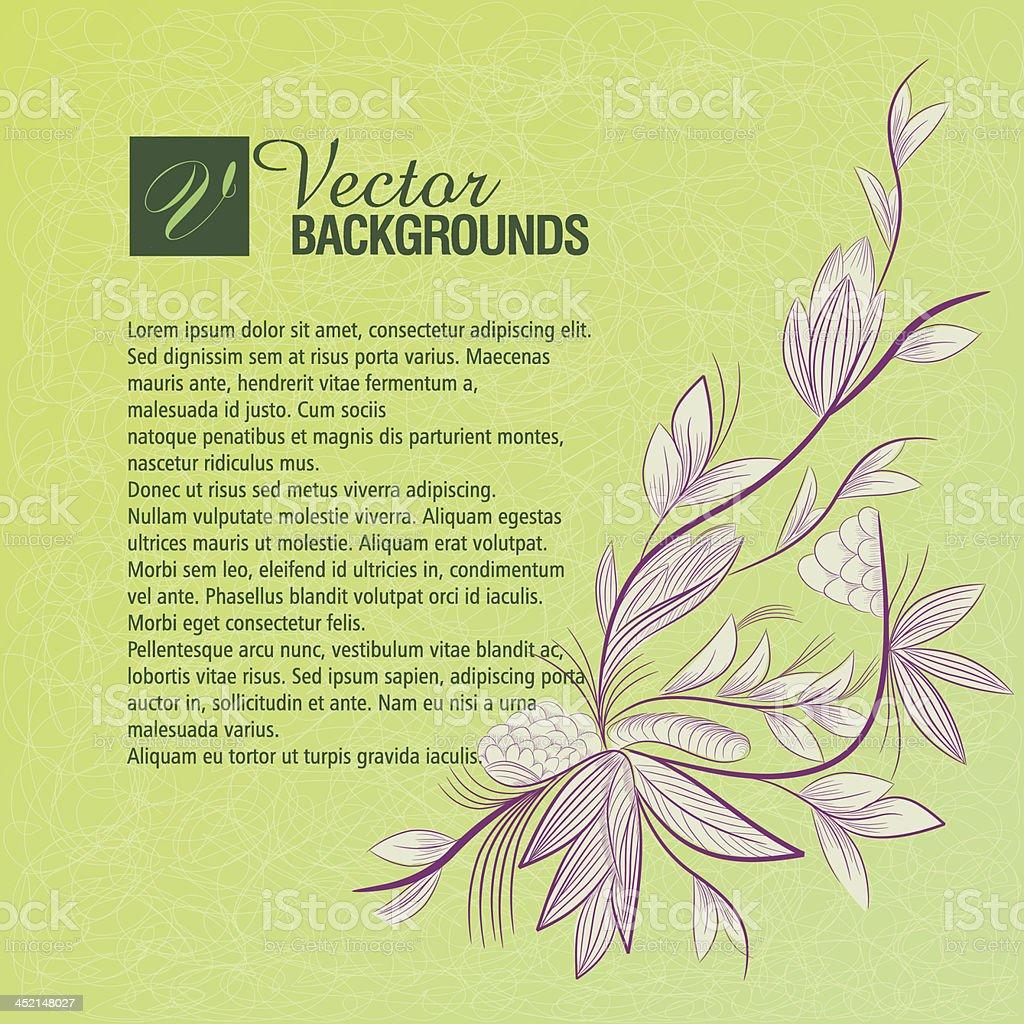 Beautiful Invitation Background. royalty-free stock vector art